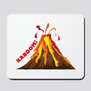 Volcano Kaboom Mousepad