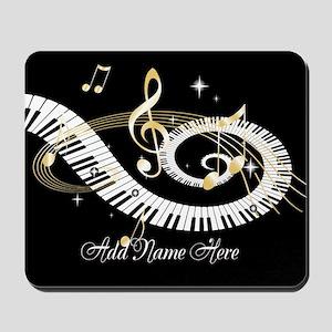 Personalized Piano Musical gi Mousepad