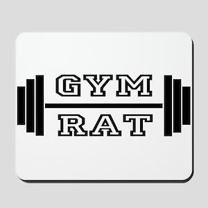 GYM RAT Mousepad
