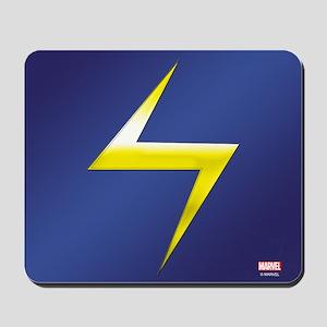 Ms. Marvel Bolt Mousepad