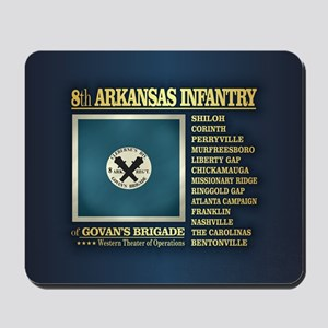 8th Arkansas Infantry (BH2) Mousepad