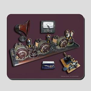 Mousepad of Radios & Keys