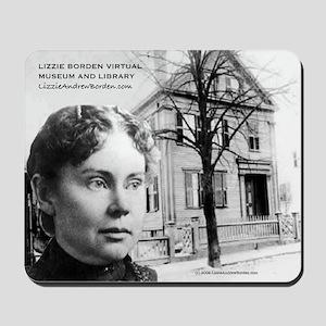 B&W Lizzie Borden Mousepad
