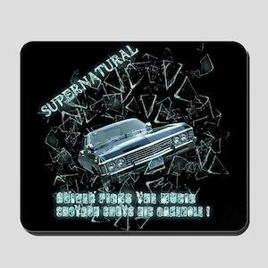 Supernatural Driver picks the music shotgun shuts