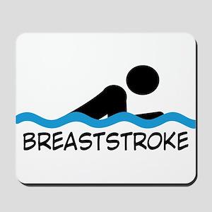 breaststroke Mousepad