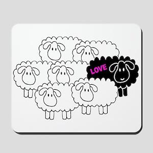 Black Sheep (Love)   Mousepad