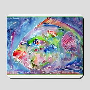 Fish, Colorful, Mousepad