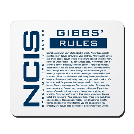 Gibbs Rules Blue