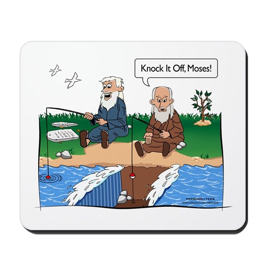 Fishing With Moses - Humor