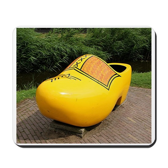 Giant yellow clog, Holland