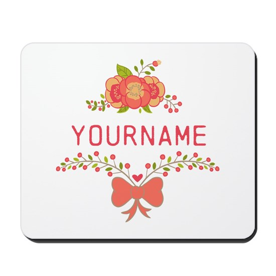 Personalized Name Cute Floral