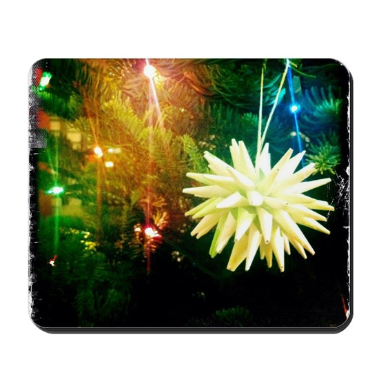 Diy Polish Star Ornament: Handmade Polish Paper Star Ornament Mousepad By