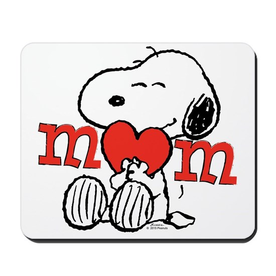 Snoopy Mom Hug