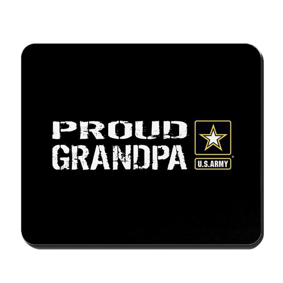 U.S. Army: Proud Grandpa (Black)