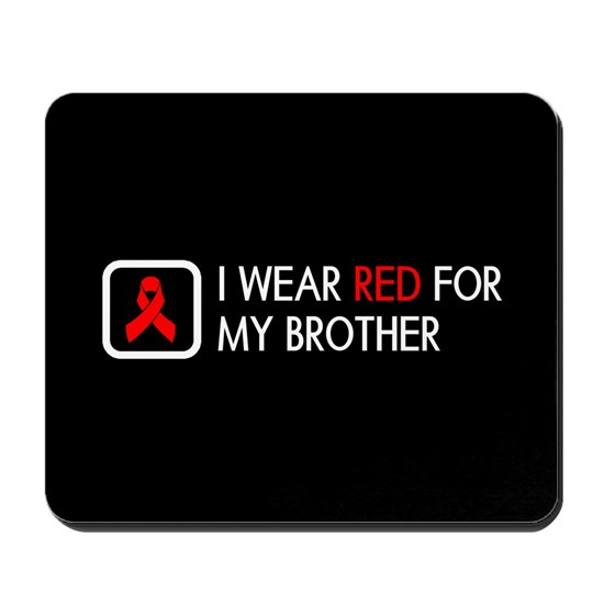 Red Ribbon: Red for my Brother