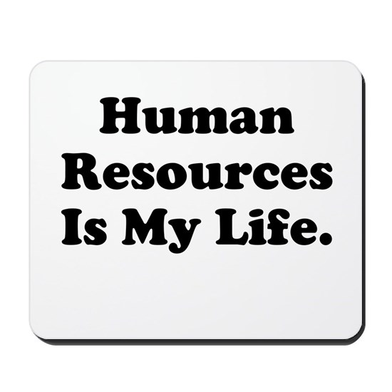 Human Resources Manager or Worker Mousepad by