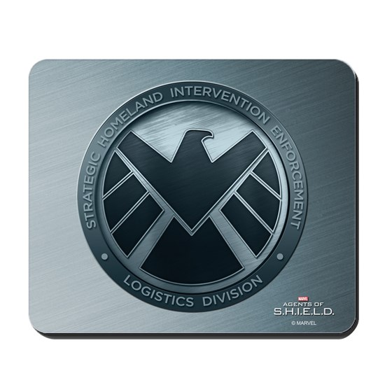 MAOS Brush Metal Shield Mouse Pad