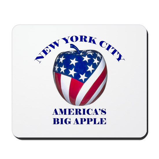 NEW YORK - APPLE FLAG