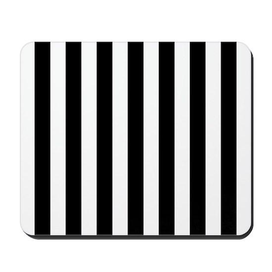 Black and white vertical stripes