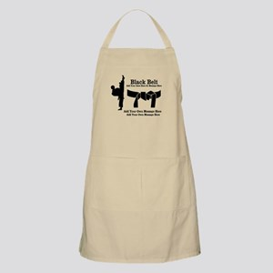 Black Belt Light Apron