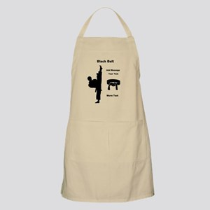Black Belt Apron