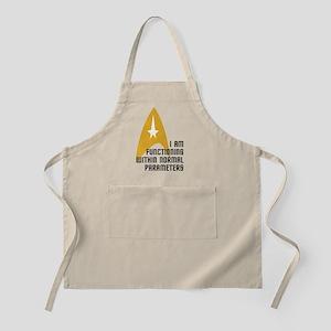 Star Trek - Normal Parameters Apron