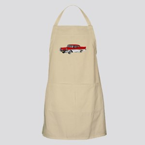 1958 Ford Fairlane 500 Red & White Apron
