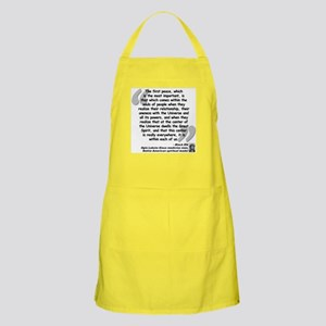 Black Elk Spirit Quote Apron