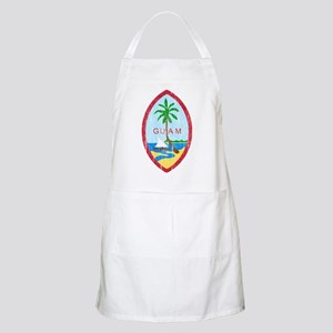 Guam Coat Of Arms Apron