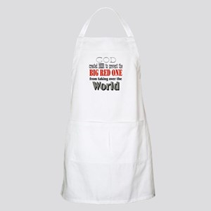 Big Red One Beer BBQ Apron