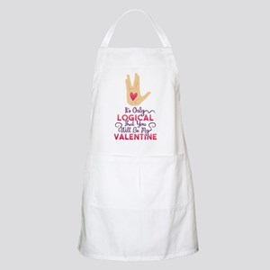 Logical Valentine Apron