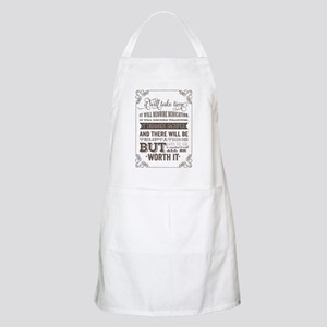 worth it quote Apron