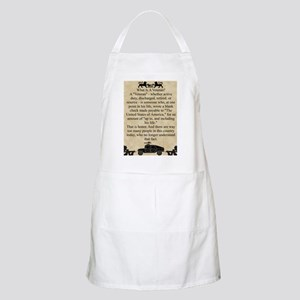 What is a Veteran Apron (dark)