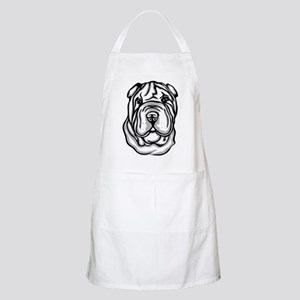 Toy Chinese Shar Pei BBQ Apron