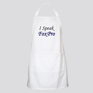 """I Speak FoxPro"" Chef's Apron"