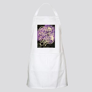 HAPPY MARRIED LIFE Apron
