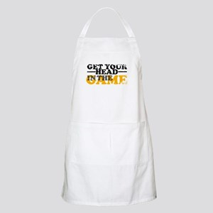 Get Your Head In The Game BBQ Apron