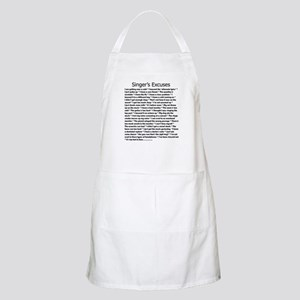 Singer's Excuses BBQ Apron