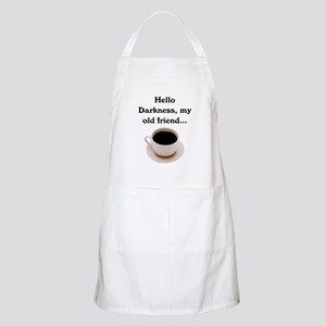 HELLO DARKNESS, MY OLD FRIEND Apron