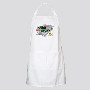 Book Lover BBQ Apron