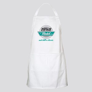 1948 Birthday Vintage Chrome Apron