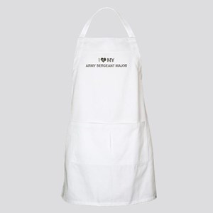 Army Sergeant Major: Love - V BBQ Apron