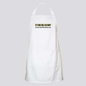 Tea Party Time BBQ Apron