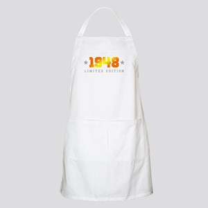Limited Edition 1948 Birthday Apron