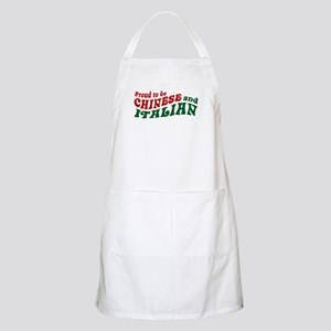 Proud Chinese and Italian BBQ Apron