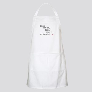 One writer girl Apron