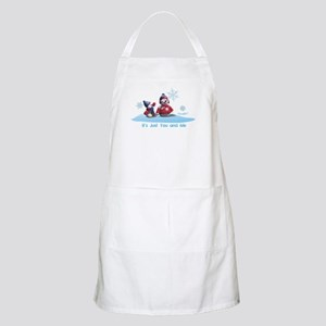 It's Just You and Me BBQ Apron