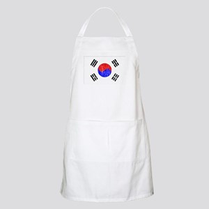 South Korea Flag Apron