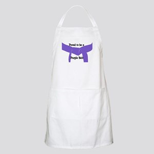 Proud to be a Purple Belt BBQ Apron