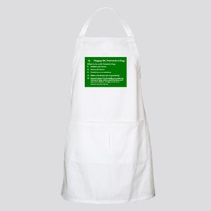 What to do on St. Patricks Day Apron